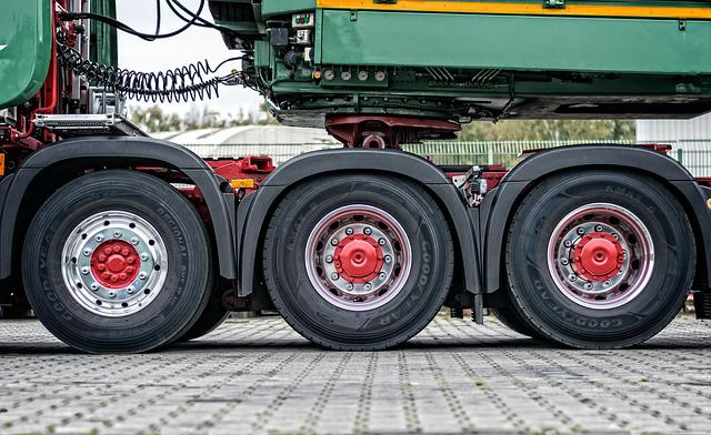 Truck, Mature, Axis, Drive, Heavy Duty, Wheel, Rubber