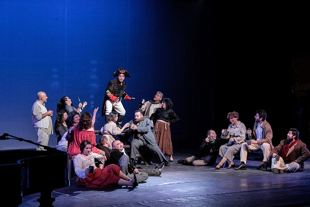 Theatre, Aysen, Chorus