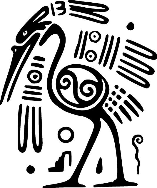 Ostrich, Bird, Mexico, Inca, Maya, Aztec, Symbol