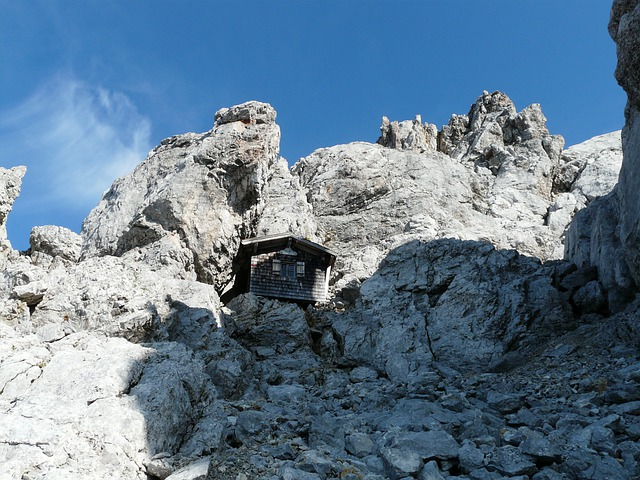 Babenstuber Hut, Emergency Shelter, Hut, Mountain Hut