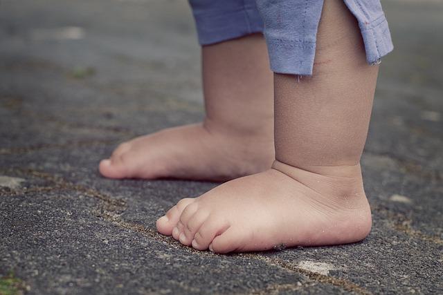 Feet, Children's Feet, Baby, Barefoot, Human, Child