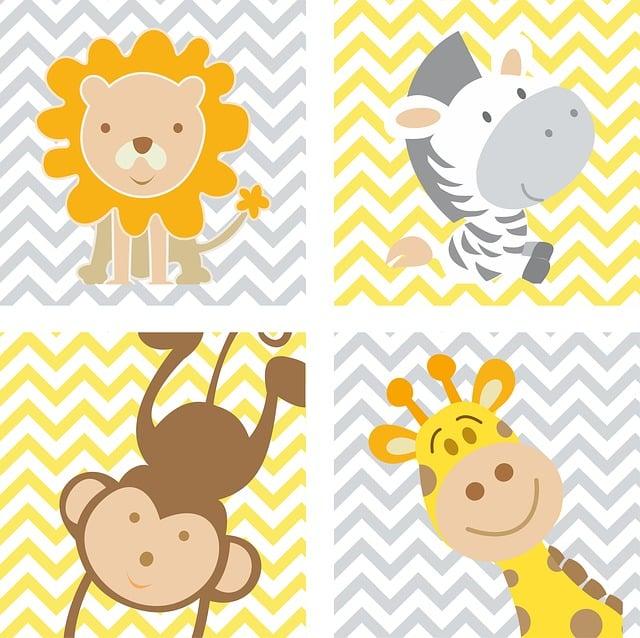 Frame, Animals, Baby, Child, Green Frame