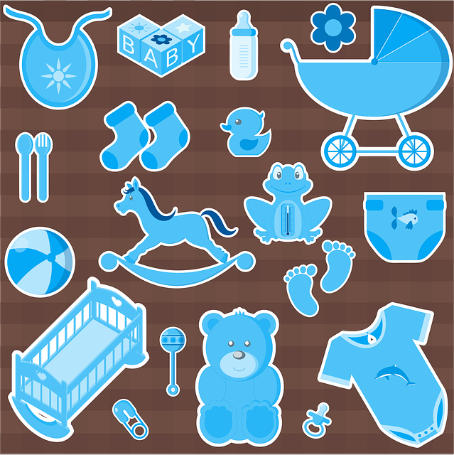 Boy, Baby, Child, Infant, Game, Household Objects