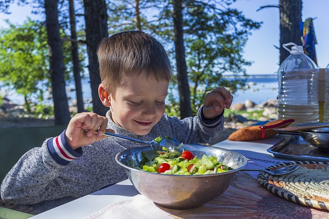 Baby, Nature, Vacation, Food, Tasty, On The Nature