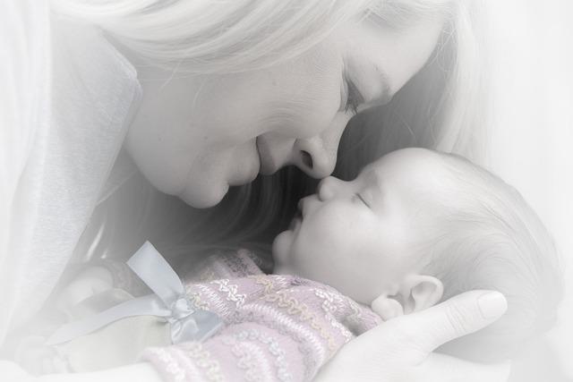 Newborn, Baby, Mother, Adorable, Sweet, Portrait