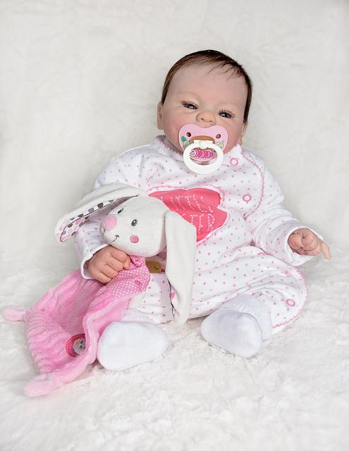 Doll, Baby Doll, Artist Doll, Baby, Stuffed Animal