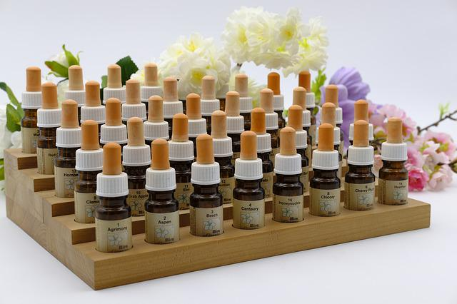 Bach Flowers, Homeopathically, Homeopathy, Bottle