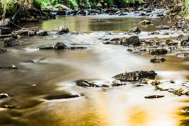 River, Bach, Water, Nature, Flow, Stones, Waters, Mood