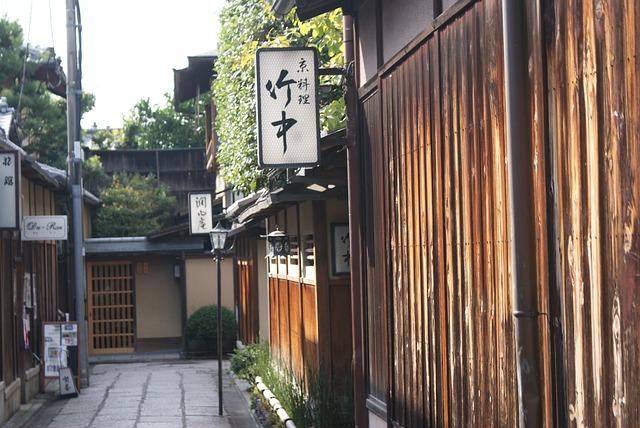 Japan, Back Alley, Shop, Kyoto