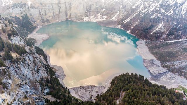 Top, Aerial View, Air, Art, Autumn, Background