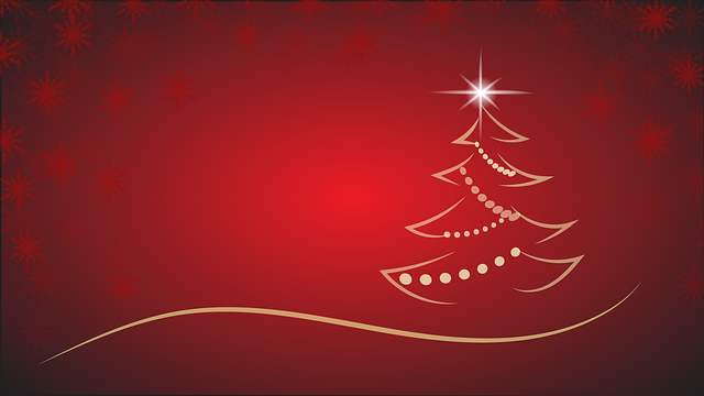 Christmas, Christmas Tree, Star, Background, Backdrop