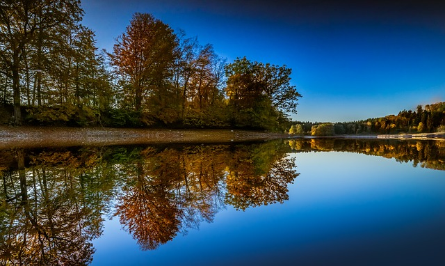 Landscape, Background, Mirroring, Background Image