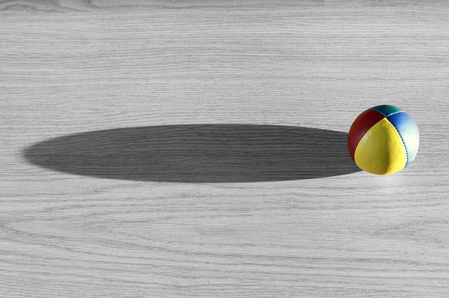Ball, Color, Paul, Shadow, Background, Comet, Fly