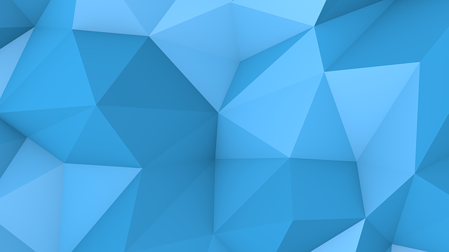 Banner, Blue, Background, Origami, Paper, Like