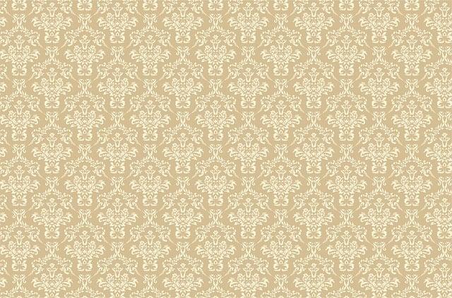 Damask, Pattern, Background, Beige, Tan, Brown