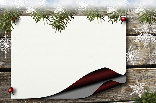 Bulletin Board, Holly, Paper, Background, Christmas
