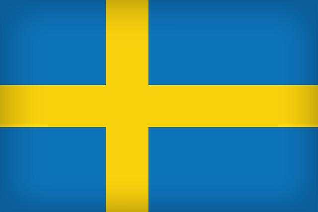 Sweden Flag, Background, Backdrop, Country, Sweden