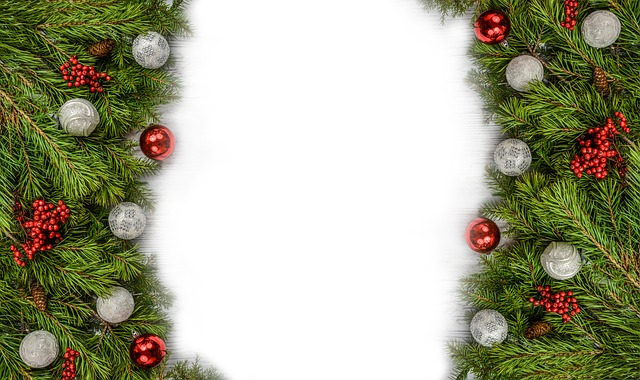Background, Backdrop, Christmas, Decoration, Pine, Xmas