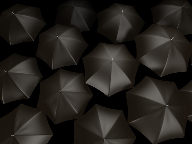 Umbrella, Abstract, Background, Rain, Weather, Design