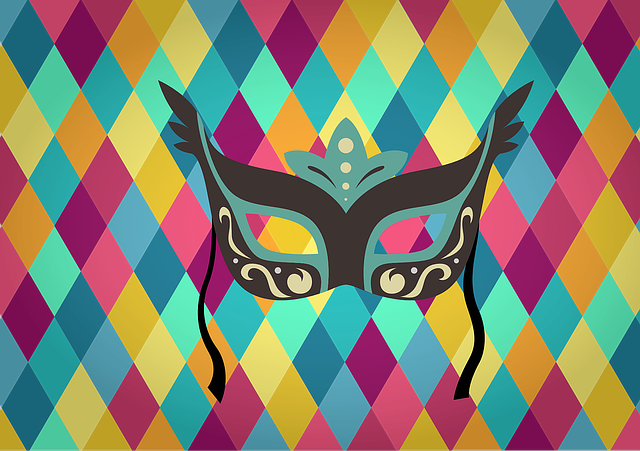 Diamond, Pattern, Mask, Carnival, Background, Diamonds