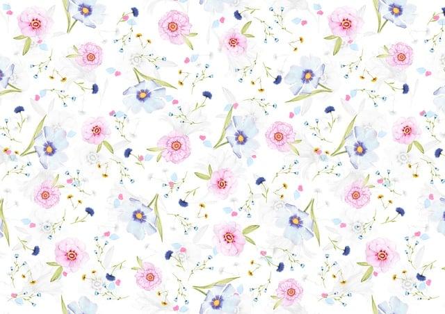 Floral, Pattern, Background, Digital Paper, Paper