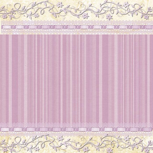 Background, Lilac, Stripe, Swirl, Floral, Scrapbook