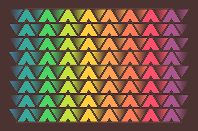 Free Colorful Geometric Wallpaper: Free Photo Geometric Wallpaper Triangle Design The
