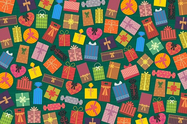 Presents, Gifts, Background, Colorful, Box, Package