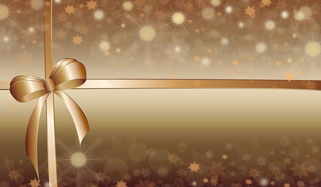 Background, Bow, Christmas, New Year, Wishes, Greetings