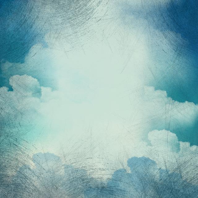 Background, Clouds, Grunge, Vintage, Old, Heaven