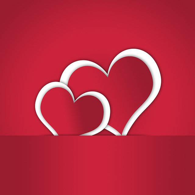 Heart, Love, Romance, Amorous, Before, Red, Background