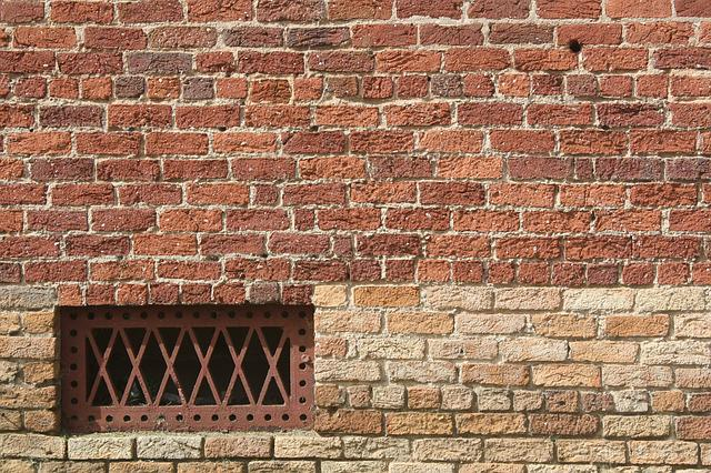 Brick, Background, Grate, Wall, Hot, Sense, Hard