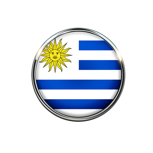 Uruguay, Flag, Circle, America, Sun, Background Image