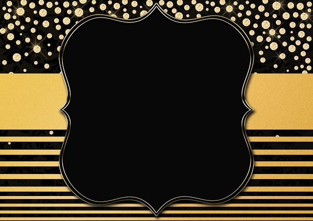 Background Image, Gold, Diamonds, Frame, Lines, Stripes