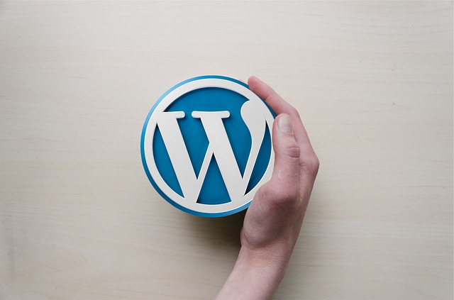 Wordpress, Hand, Logo, Background Image, Blogging