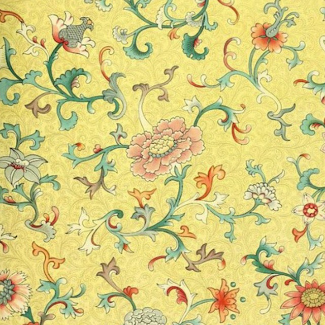 Background, Vintage, Japanese, Design, Floral