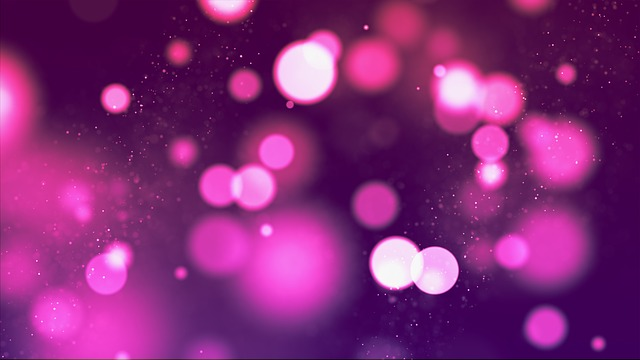 Red, Bokeh, Glow, Light, Abstract, Background