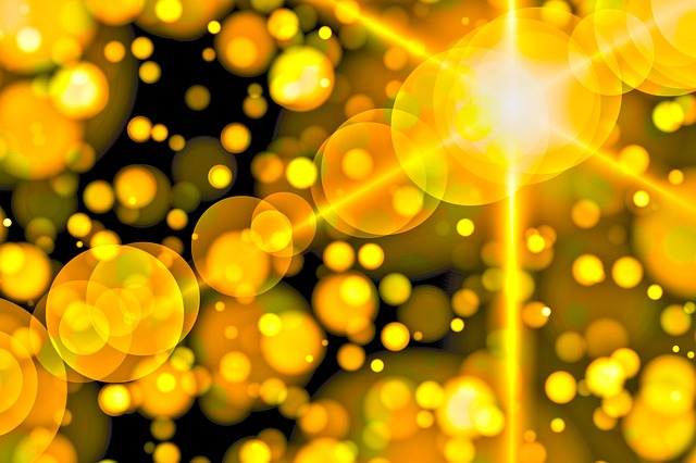 Bokeh, Background, Light Reflections, Light, Abstract