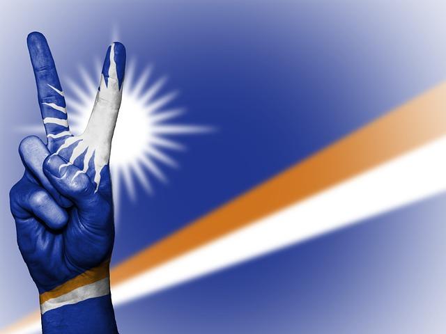 Marshall Islands, Peace, Hand, Nation, Background