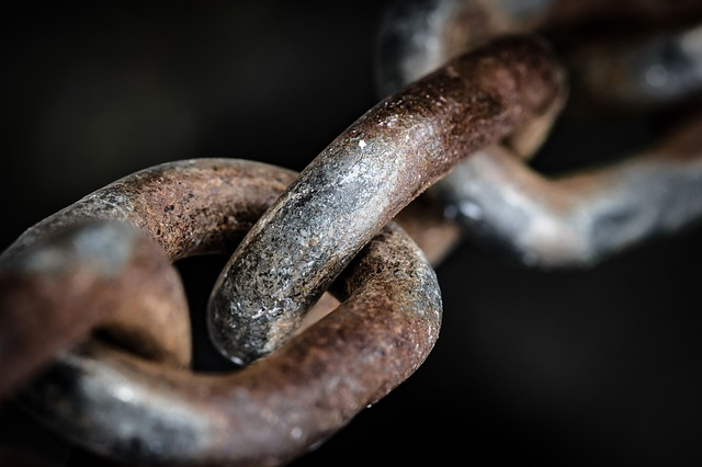 Darkness, Nature, Close, Background, Chain, Metal