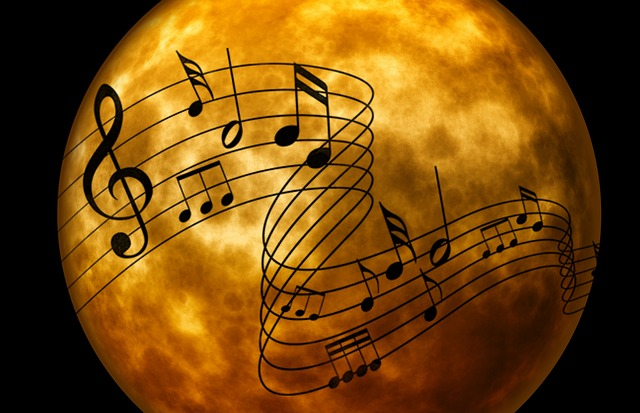 Music, Melody, Clef, Musical Note, Background