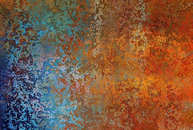 Background, Texture, Stainless, Old, Brown, Blautöne