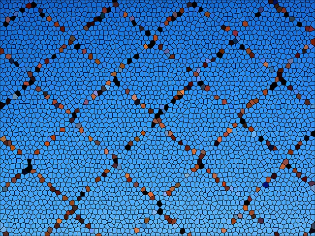 Pattern, Structure, Background, Blue, Brown, Black