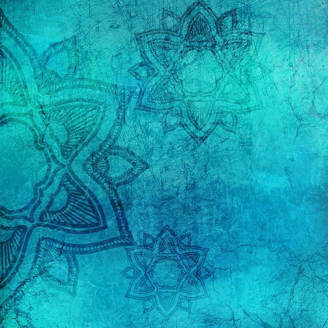 Background, Mandala, Grunge, Texture, Pattern, Vintage