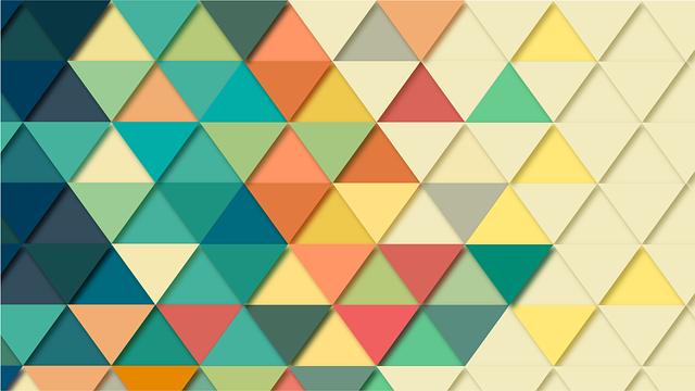 Background, Geometric, Triangle, Wallpaper, Pattern