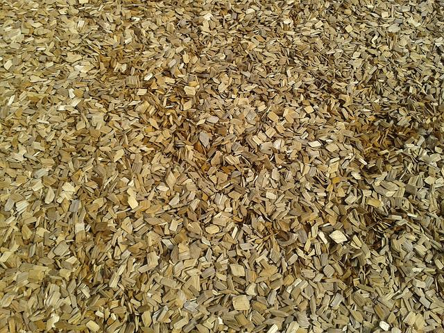 Wood, Playground, Background, Wood Chips, Brown