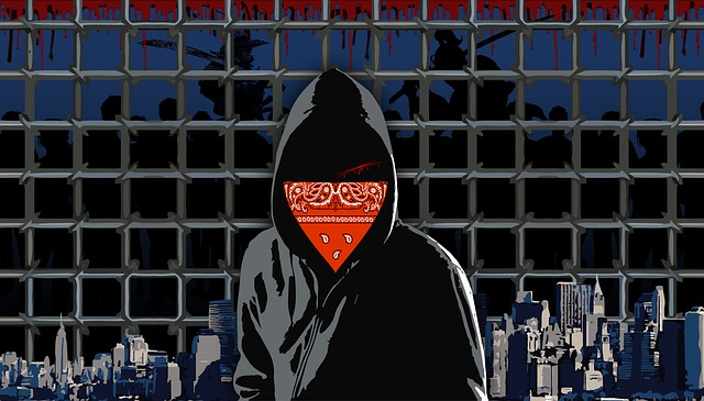 Unknown, The Offender, Prison, City, Background, Hacker