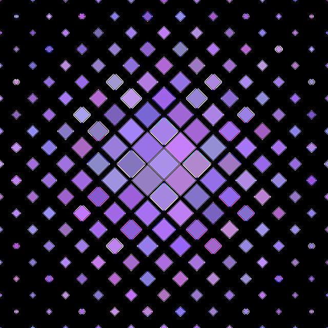 Purple, Square, Pattern, Vector, Diagonal, Background