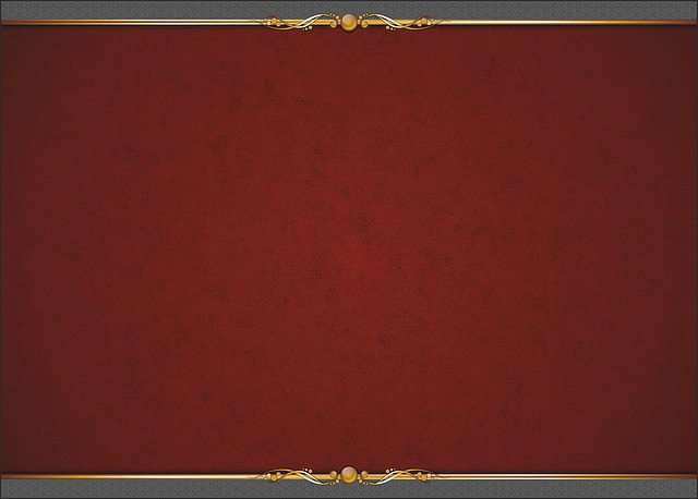 Background, Gilding, Luxury, Texture, Red