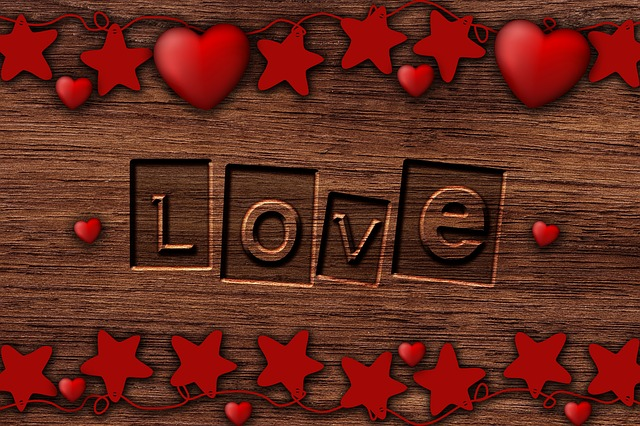 Background Romantic, Love, Wood, Wishes, Hearts, Heart